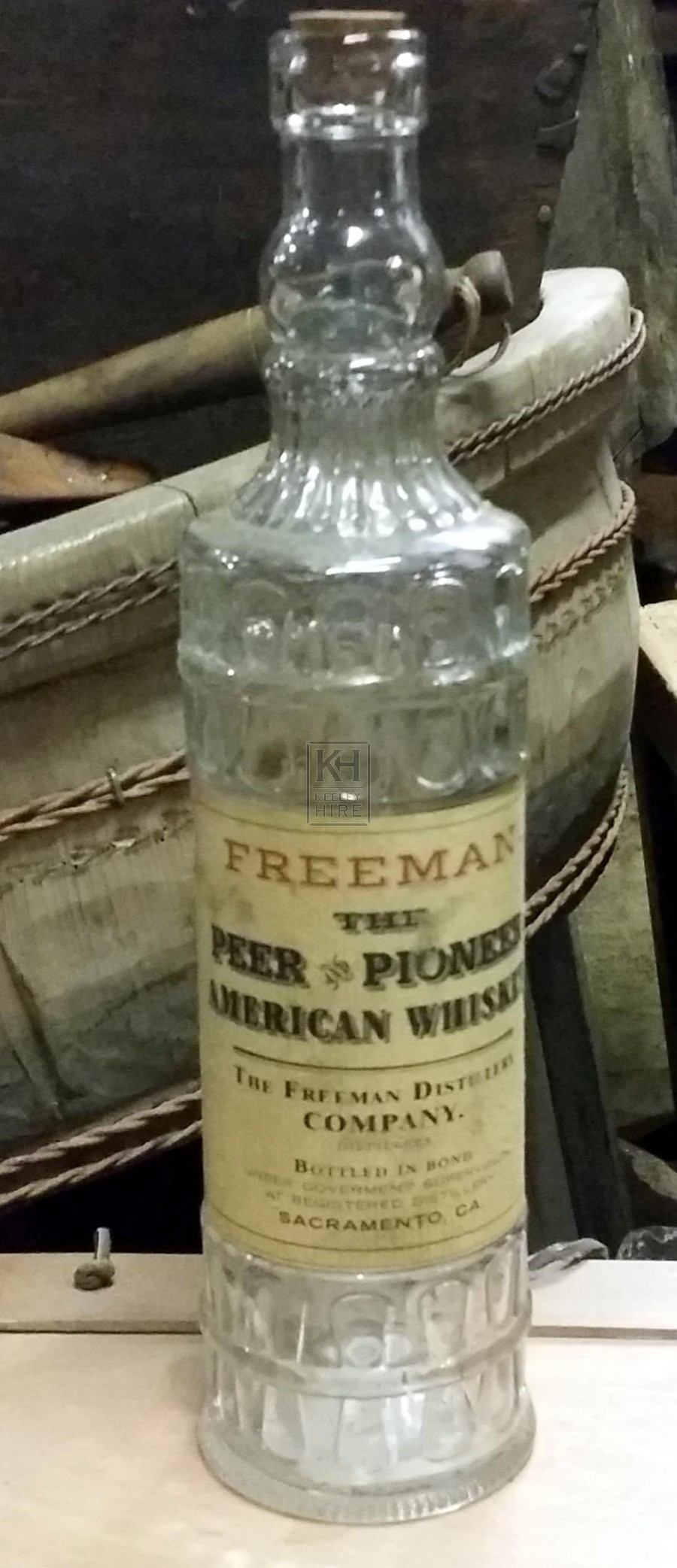 Fancy period bottle