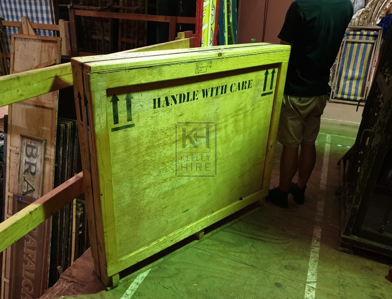 Large painting crate
