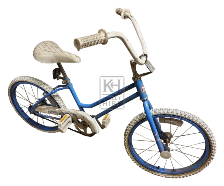 Blue American Columbia bicycle