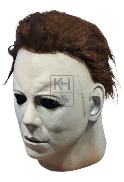 Halloween rubber mask