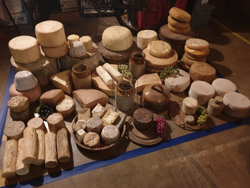 Cheese stall dressing