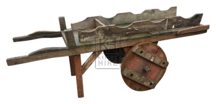 Early long cart for barrel