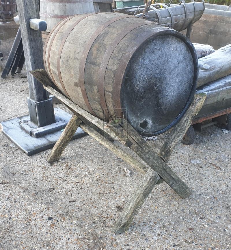 Large barrel on X-frame
