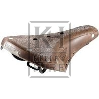 Period leather saddle