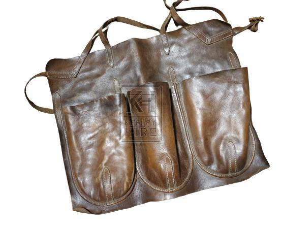 Leather tool apron