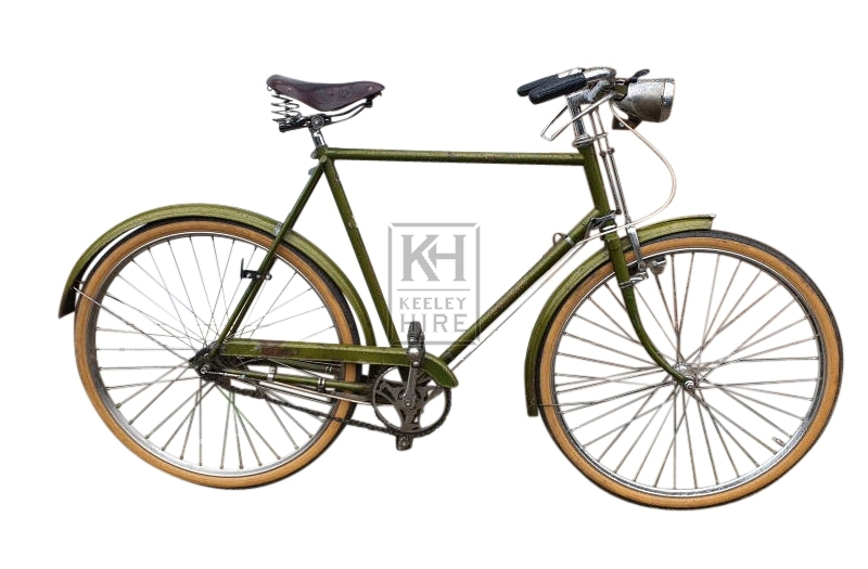 Light green period bicycle