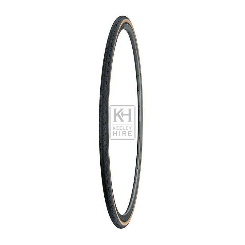 Vintage bicycle tyre