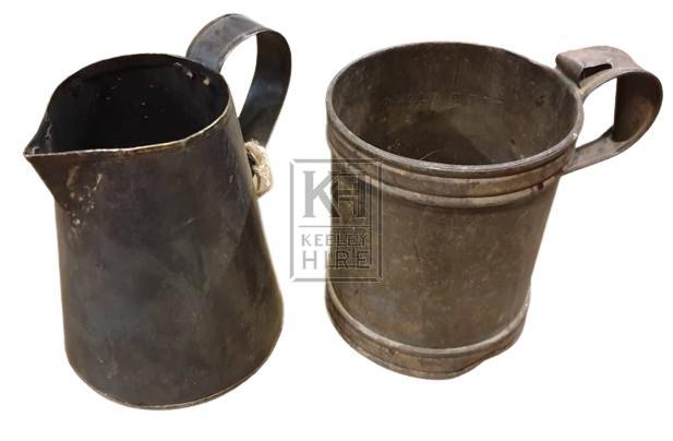 Metal jug