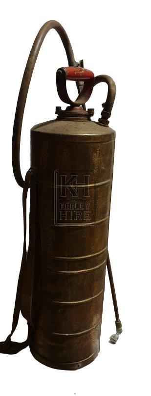 Brass pesticide cylinder