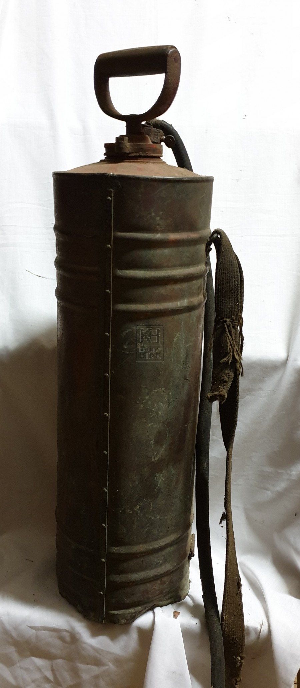 Pesticide cylinder