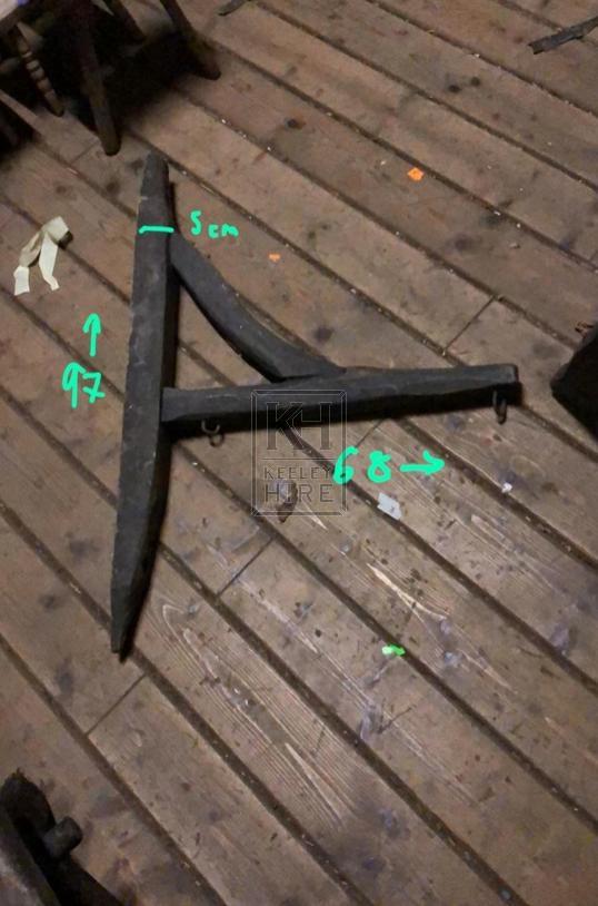 Rustic Wooden Bracket