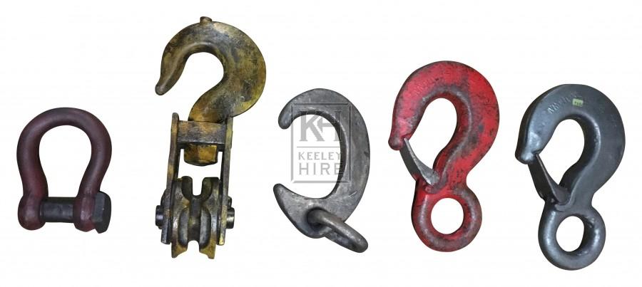 Heavy-Duty Chain Hooks - Softs