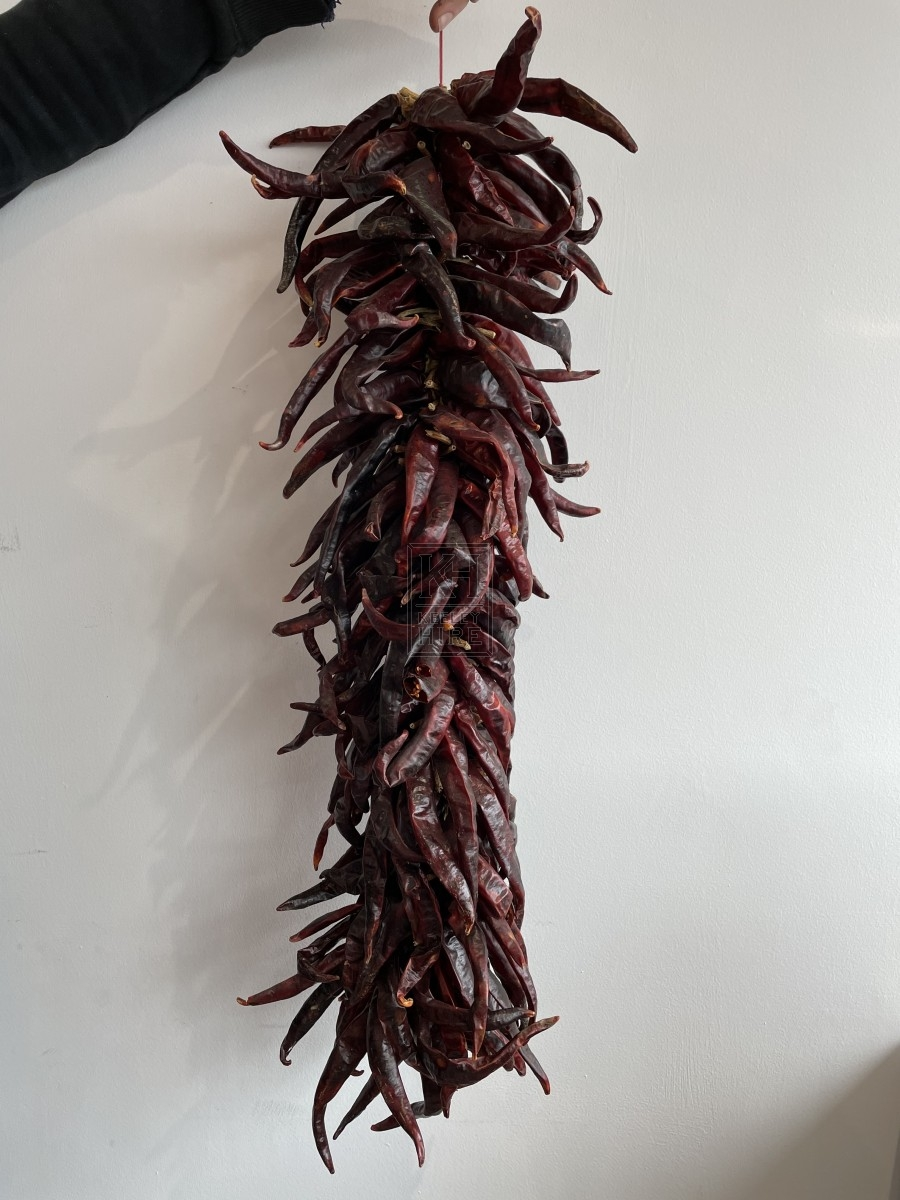 String Of Dried Red Chilies