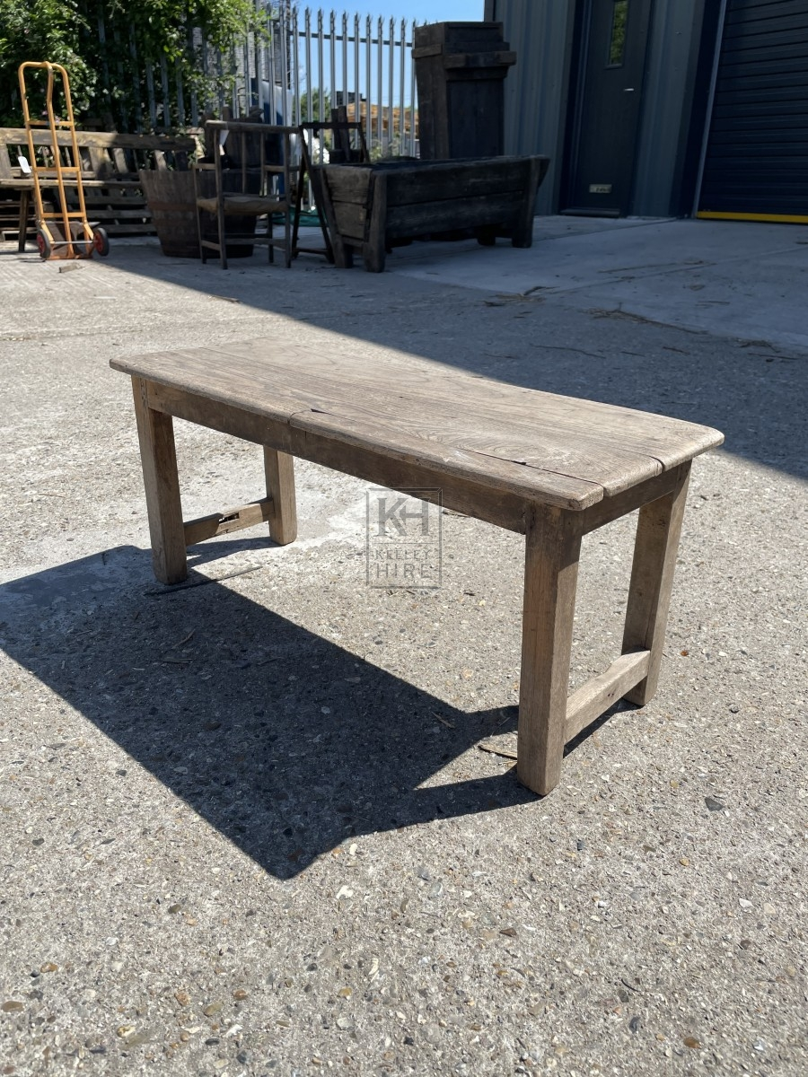 Small Weathered Bench