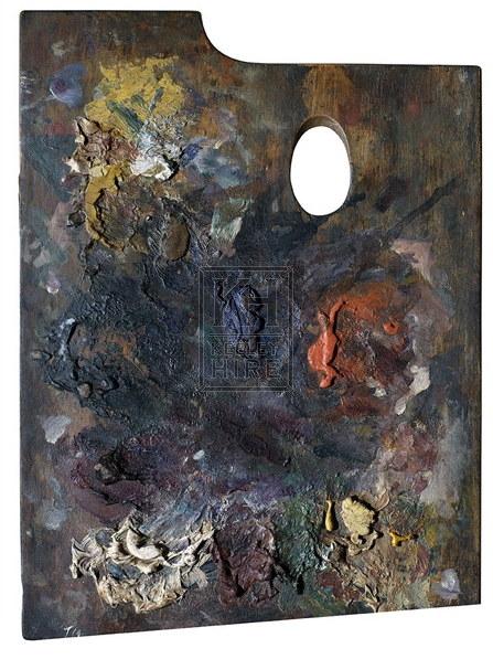 Artist palette board