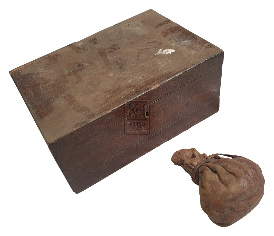 Wood art box