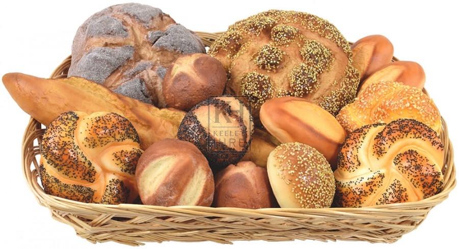 Bread basket display