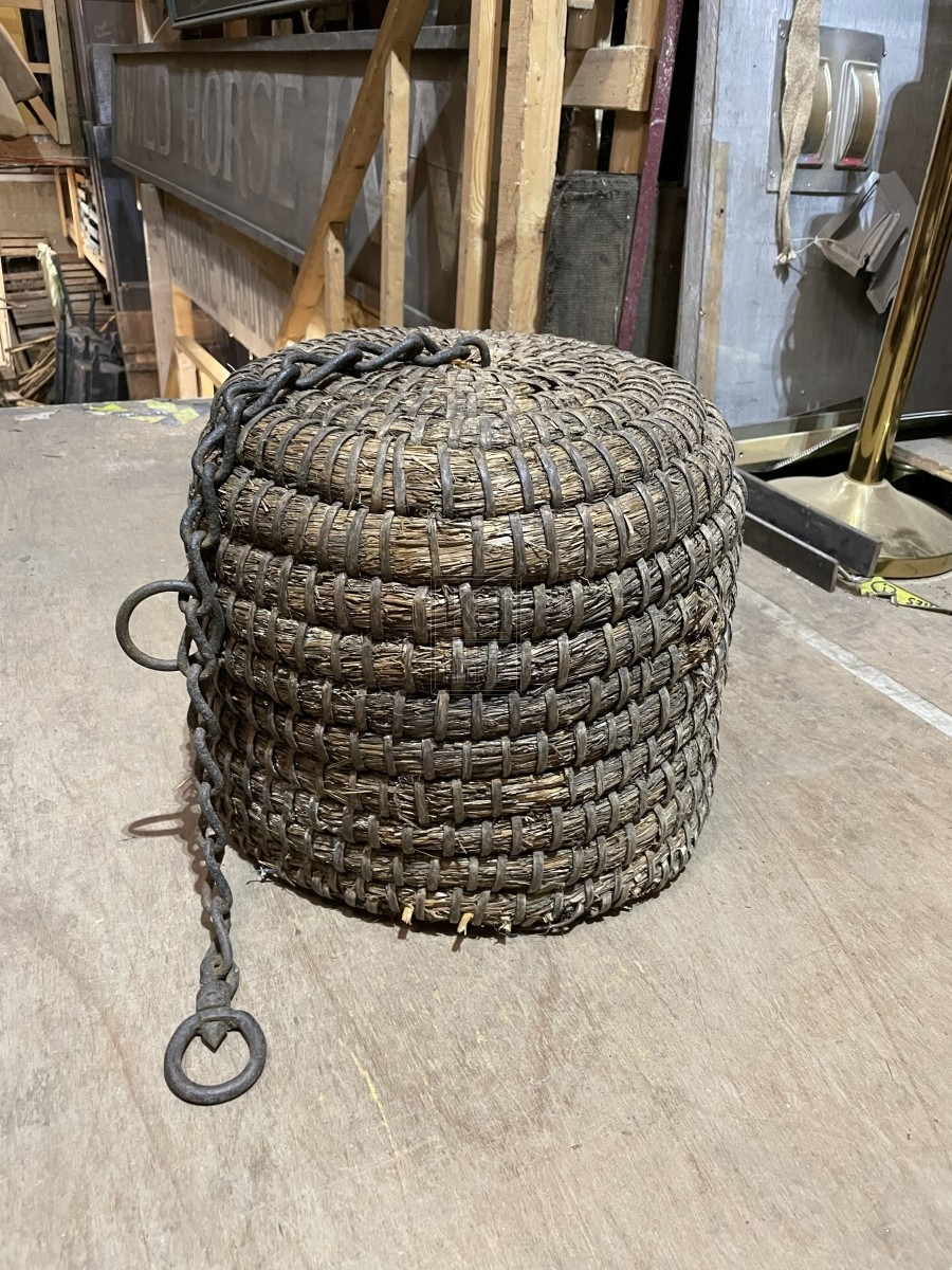 Straw Fender with Chain