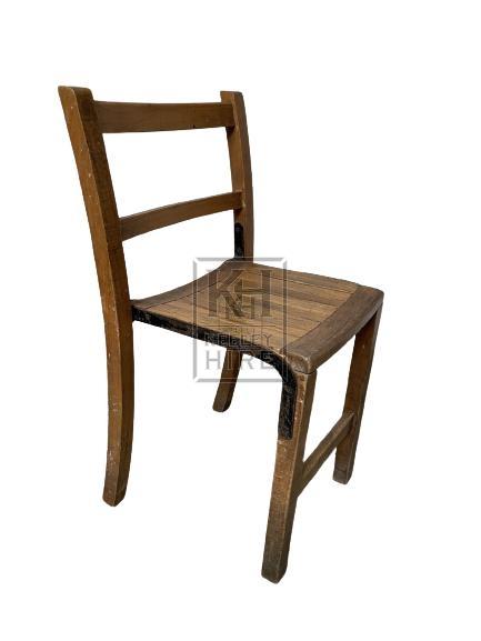 Braced Leg Chair