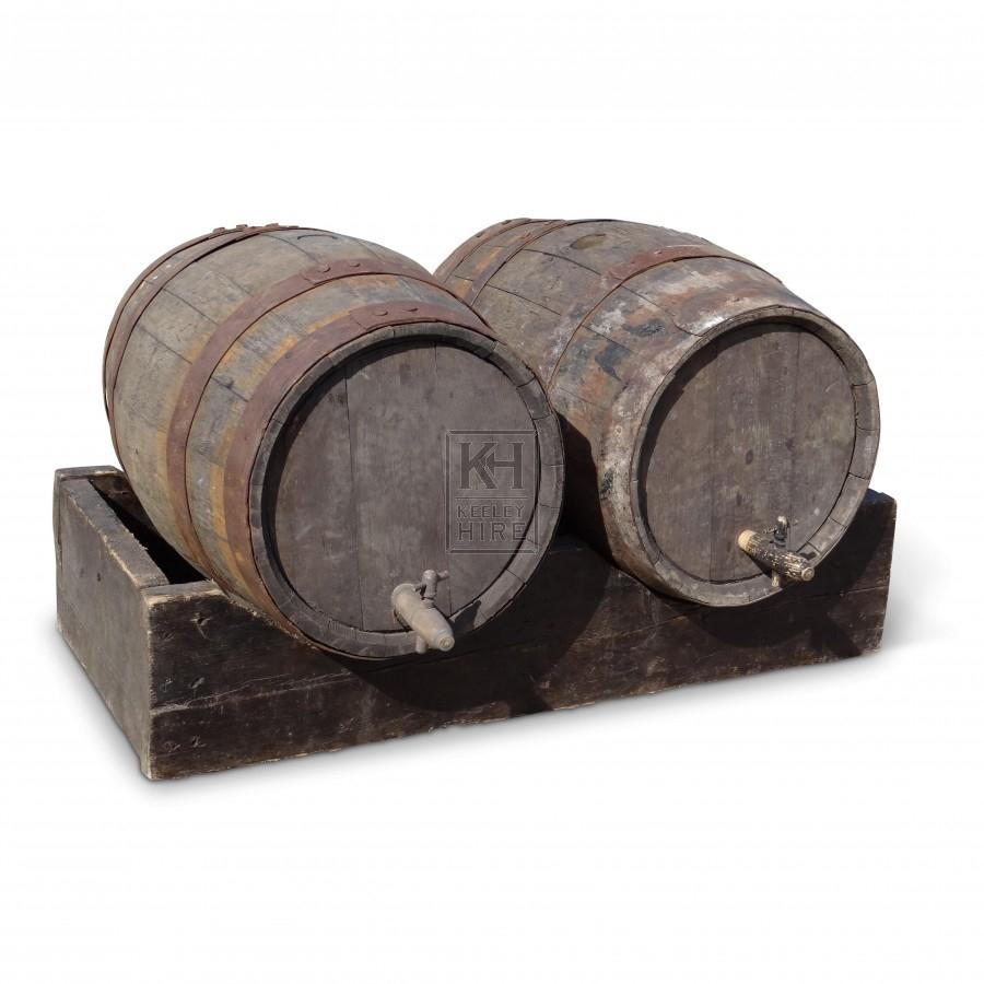 Double Counter Barrel Stand & barrels