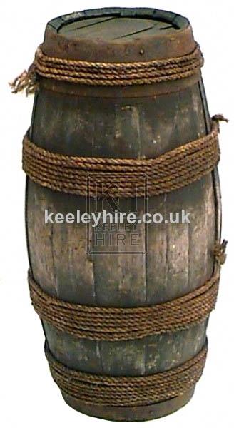 Old pipe barrel