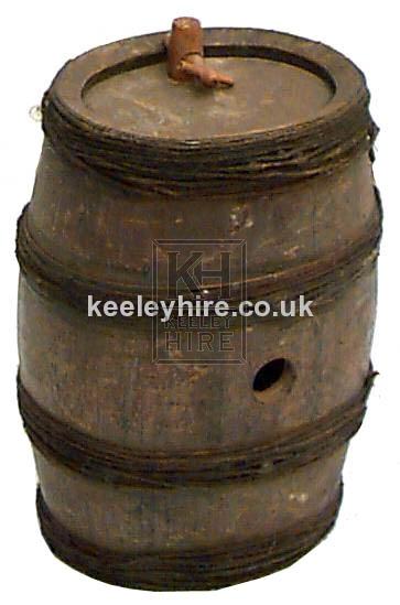 Rope Bound Barrel with Tap