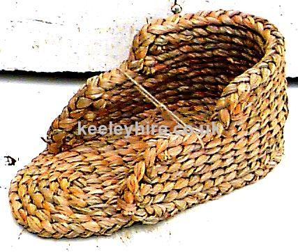 Rush scoop shape basket