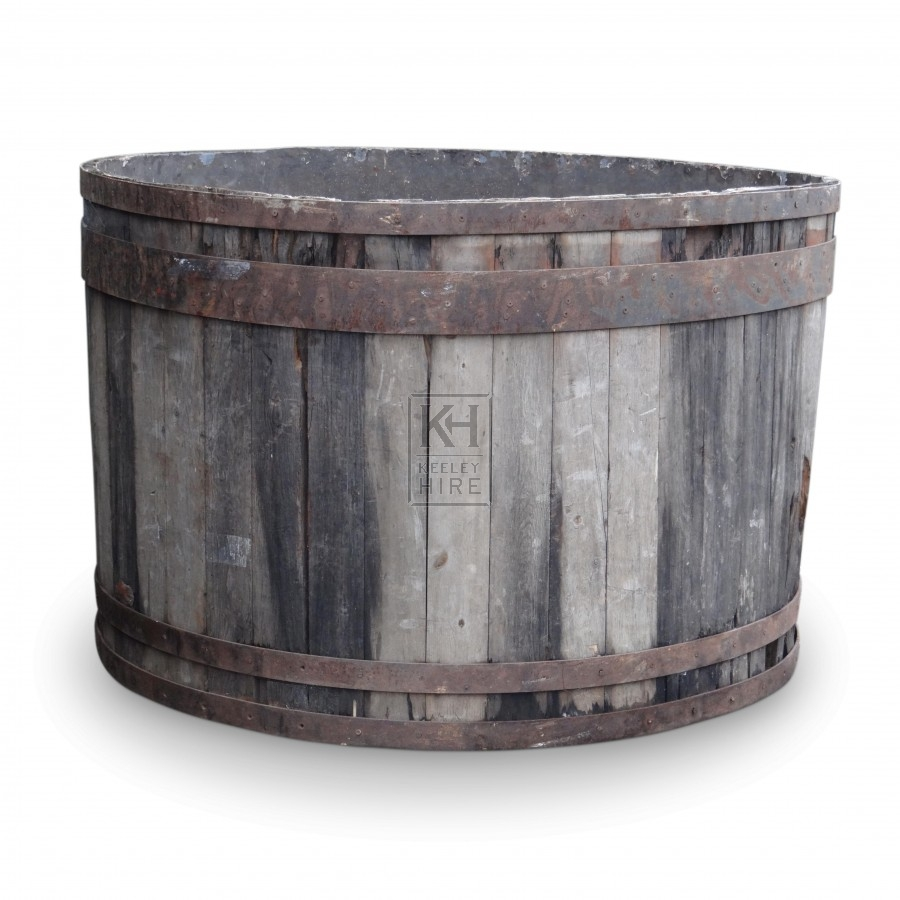 Round Bath : Hire » Bath Tubs & Large Wooden Tubs » Very Large Round Wooden Bath ...