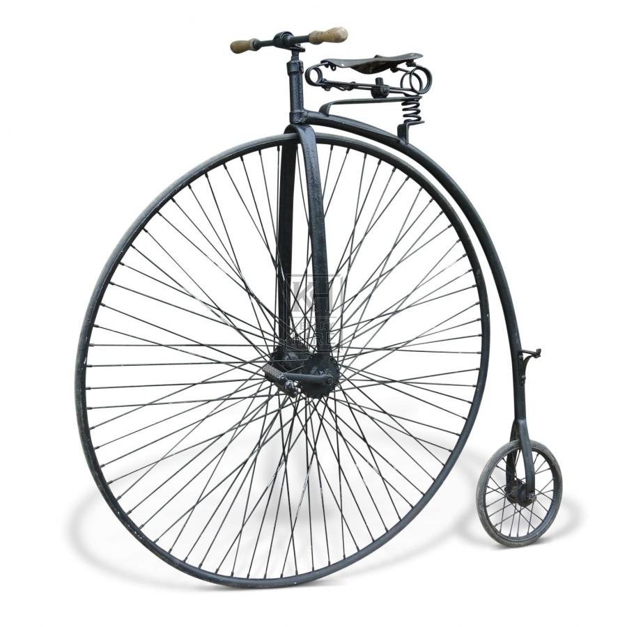 Mock Penny Farthing bicycle