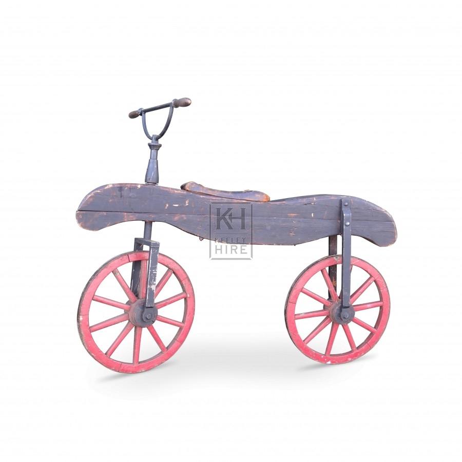 Wood Hobby Horse Bike