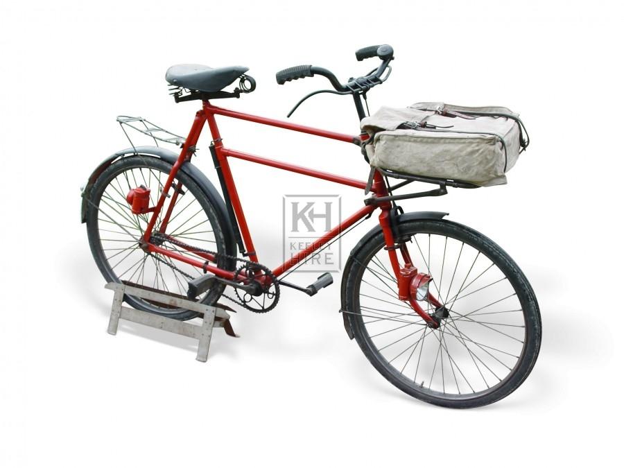 Post Bike & Bag