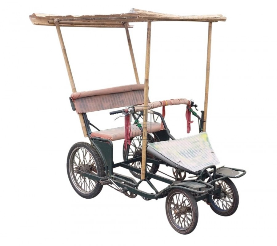 Hawaiian Style Pedal Buggy