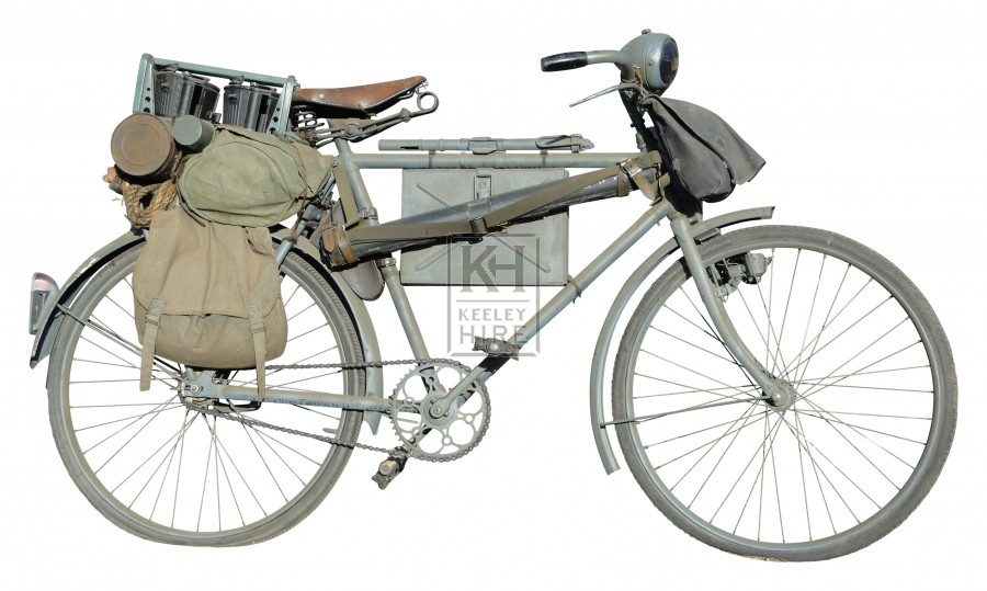 German WWII bicycle
