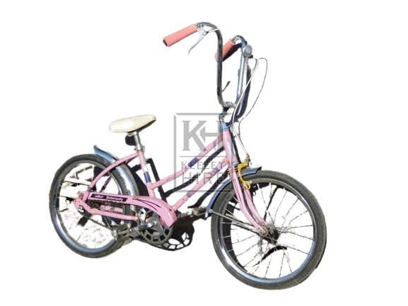 Pink Girls Bicycle