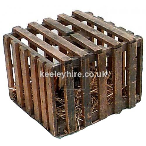 Slatted Wood Cage