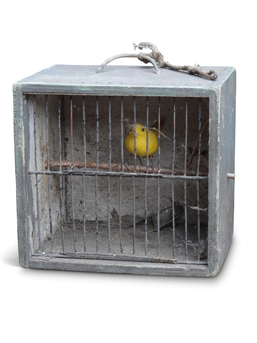 Box Cage with Wire Door