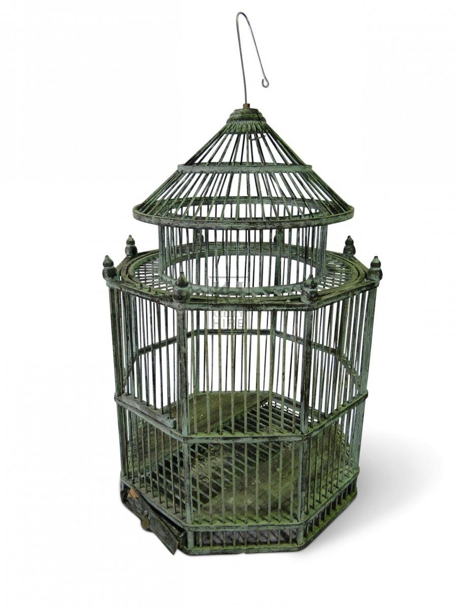 Ornate Octagonal Birdcage