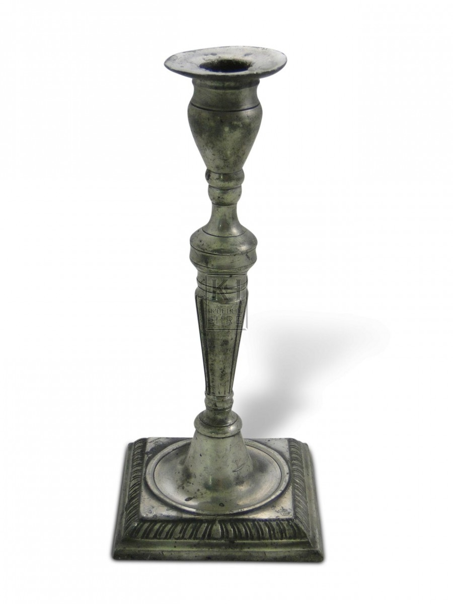 Pewter Candlestick #4