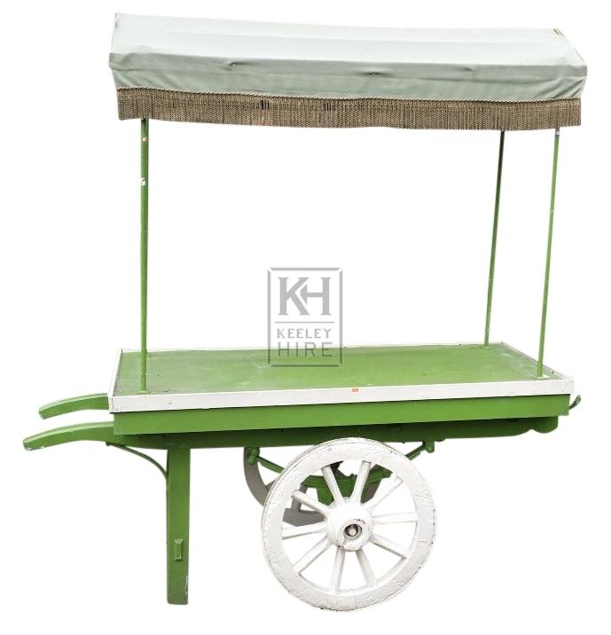 Small 2-wheel market handcart
