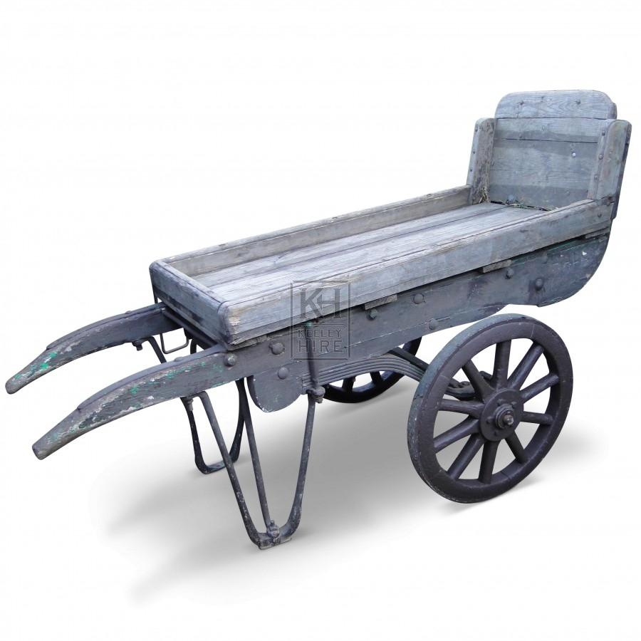 2-wheel handcart with shoe-end