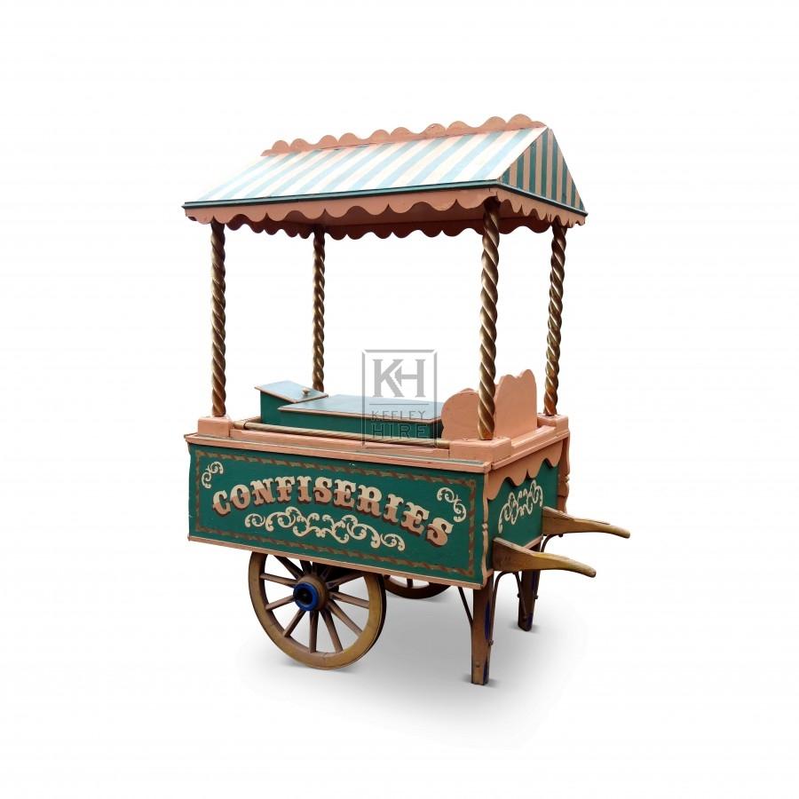 Period ice cream & sweets handcart