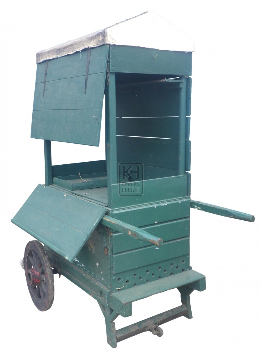 Street Vendors Cart with Drawers
