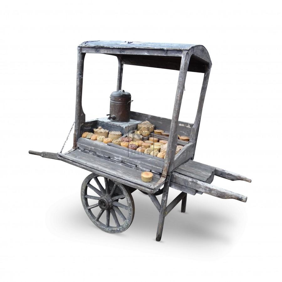 2 - Wheel Tea Hand Cart