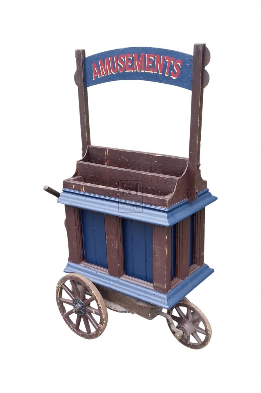 Amusements cart