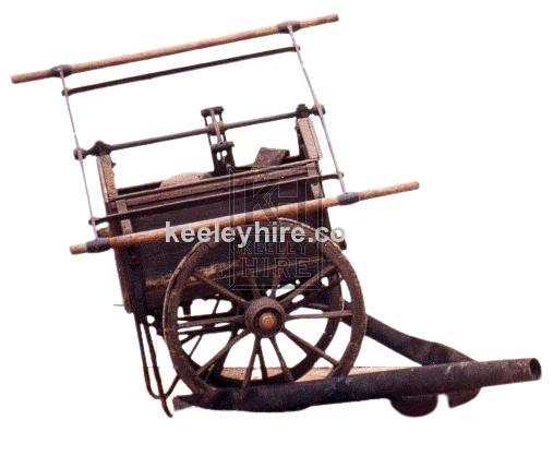 Hand Pump Fire Fighters Cart