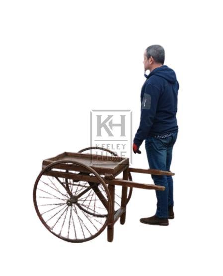 Small 2-wheel handcart
