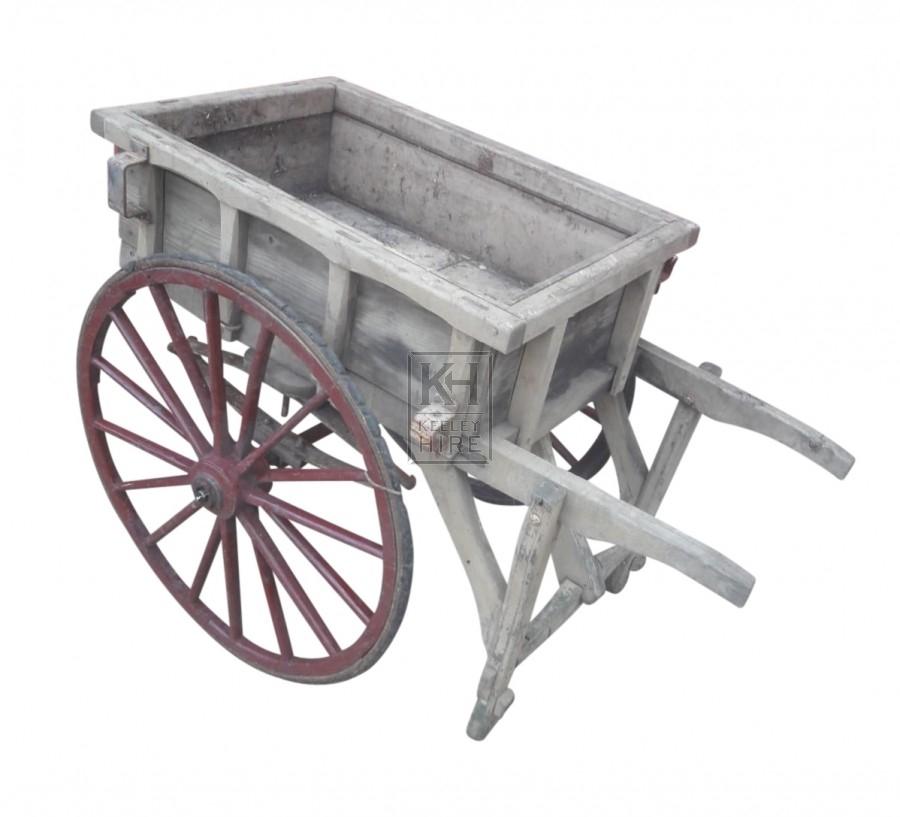 Grey 2 - Wheel Hand Cart