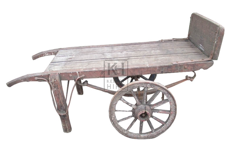 Flat 2-wheel handcart