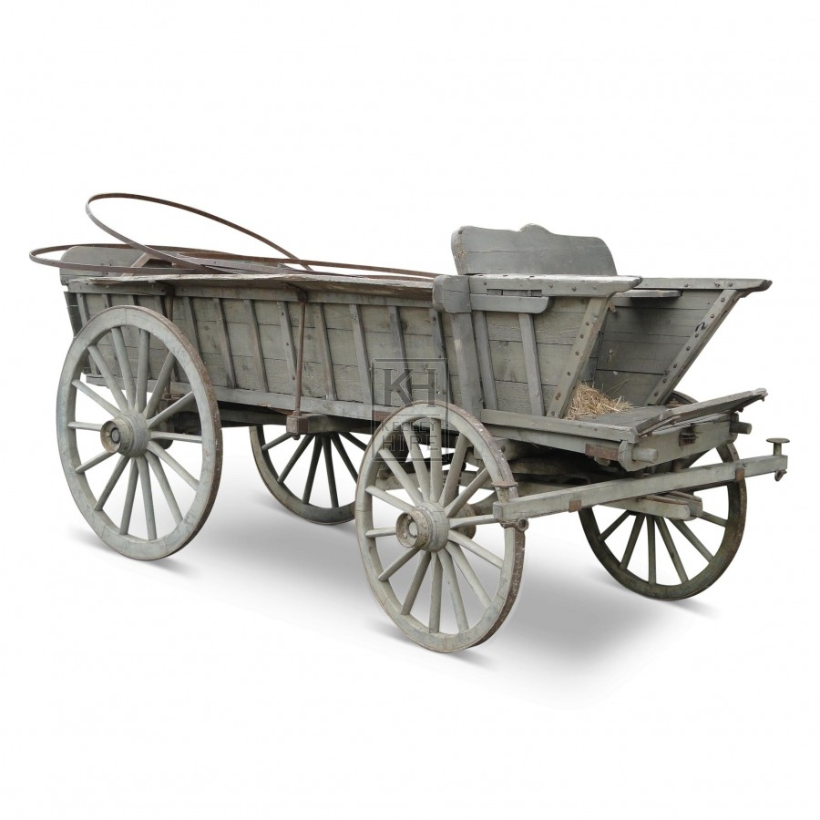 Large Covered Wagon