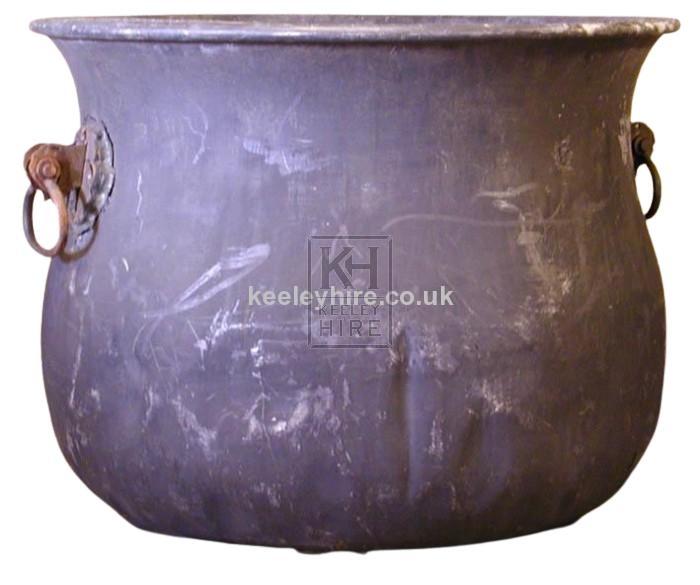Large Fibre Glass Cauldron